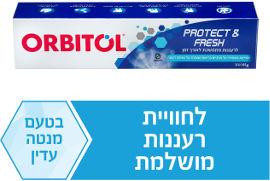 אורביטול משחת שיניים PROTECT&FRESH