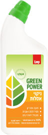 סנו GREEN POWER ניקוי אסלות אקולוגי