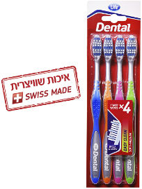 Life EASY CLEAN DENTAL מברשות שיניים