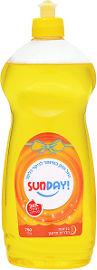 סאנדיי נוזל לניקוי כלים 24% חומרים פעילים בניחוח הדרים מרענן