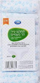 Life לייף תחתוני נייר L-XL