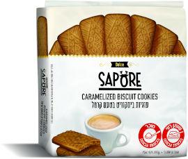 סאפורה עוגיות ביסקוויט בטעם קרמל