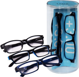 לייף משקפי קריאה מוכנים 3+
