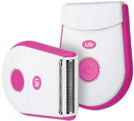 Life TRAVEL SHAVER מכונת גילוח ניידת לנשים בטעינת USB