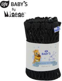 Life BABYS סל רשת לעגלה - שחור