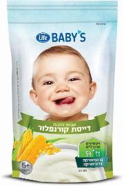 Life BABYS דייסה קורנפלור 6+ חודשים