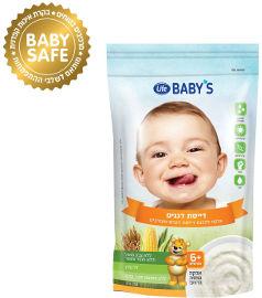 לייף בייביז דייסת לתינוק דגנים 6+ חודשים