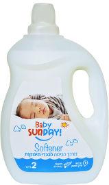 סאנדיי BABY מרכך כביסה לבגדי תינוקות