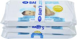 Life BABYS מגבונים עבים במיוחד לתינוקות ללא בישום TO GO
