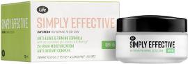 Life SIMPLY EFFECTIVE קרם יום לעור רגיל/שמן