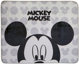 Disney שטיח פלנל לחדר ילדים דגם מיקי מאוס
