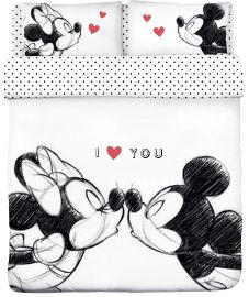 Disney סט מצעים זוגי M&M Kiss