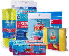 יעקבי חבילת מטליות וספוגיות למגוון שימושים