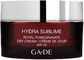 GA-DE HYDRA SUBLIME קרם יום לכל סוגי העור תמצית רימונים