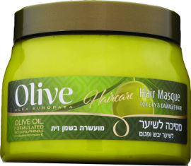 Olive מסכה לשיער פגום מועשרת בשמן זית