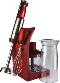 SAUTER מוט בלנדר+ערכת אביזרים דגם HB729R אדום