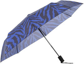 לייף מטריה מתקפלת זברה