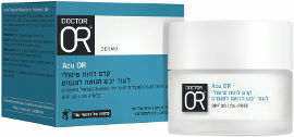 דוקטור עור ACU-OR קרם לחות טיפולי לעור יבש הנוטה לפגמים SPF30