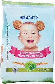 LIFE BABYS ביסקוויטים אפויים מקמח מלא לפעוטות