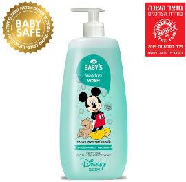 Life BABYS אל סבון לעור רגיש במיוחד - דיסני
