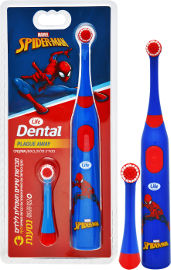 לייף DENTAL מברשת שיניים חשמלית לילדים נטענת - ספיידרמן