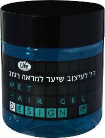Life ג'ל לעיצוב שיער למראה רטוב