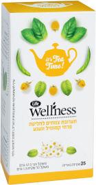 Life Wellness תערובת צמחים לחליטה פרחי קמומיל ונענע