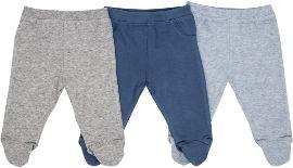 Life BABYS מכנסיים כחול אפור 0-3 קיץ