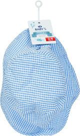 Life BABYS כובע קיץ משבצות תכלת 0-6