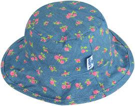 Life BABYS כובע קיץ ג'ינס פרחוני 0-6