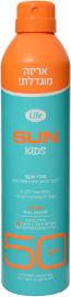 Life SUN קידס ספריי שקוף להגנה מפני השמש SPF50