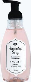 Life סבון קצף מועשר בתמצית ליצ'י