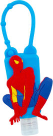 Life ג'ל היגייני במארז סיליקון עם דמות ספיידרמן