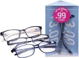 לייף משקפי קריאה מוכנים 3.00+