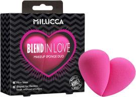 MILUCCA ספוגיות עם חיתוך מקצועי בצורת לב