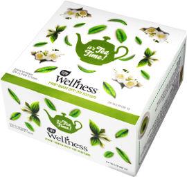 לייף לייף וולנס תה ירוק בטעם יסמין