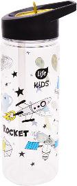 לייף קידס בקבוק שתיה לילדים חלל