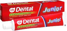 Life DENTAL משחת שיניים לילדים ג'וניור לגילאי 6-12