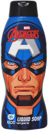 לייף קידס אל סבון לילדים קפטן אמריקה