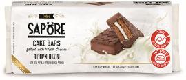 סאפורה עוגות אישיות בציפוי שוקולד חלב ובמילוי קרם חלב