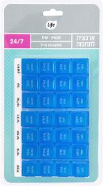 לייף ארגונית לתרופות - שבועית-יומית - 28 תאים