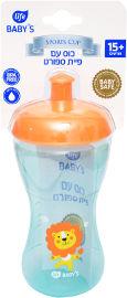 """לייף לייף בייביז בקבוק אימון לתינוק עם פיית ספורט 15+ חודשים 340 מ""""ל"""