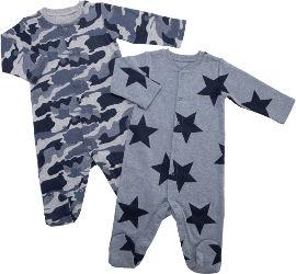 Life BABY'S אוברול צבאי כוכב
