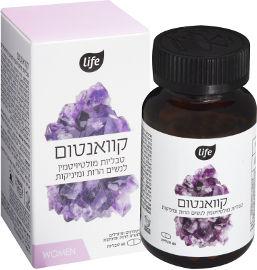 לייף קוואנטום טבליות מולטיויטמין לנשים הרות ומיניקות