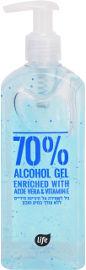 Life ג'ל לשמירה על היגיינת הידיים 70%