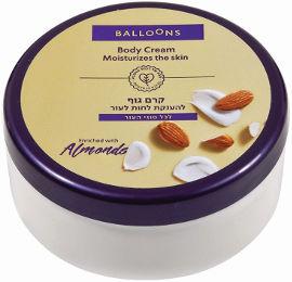 BALLOONS קרם גוף לכל סוגי העור - שקדים