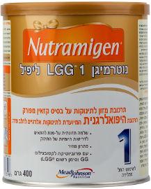 NUTRAMIGEN תרכובת מזון לתינוקות על בסיס קזאין מפורק לשימוש החל מהלידה