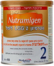 NUTRAMIGEN תרכובת מזון המשך לתינוקות על בסיס קזאין מפורק תרכובת היפואלרגנית
