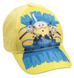 Anonima כובע קיץ מיניונים צהוב