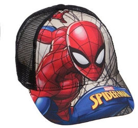 Anonima כובע קיץ ספיידרמן שחור